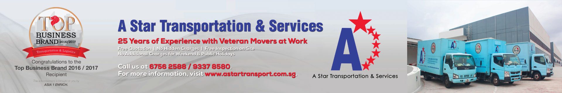 Professional moving company in Singapore