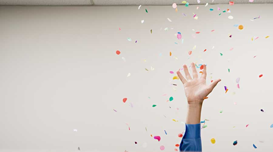 celebrate successful office relocation project